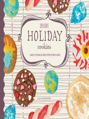 cover image of Super Simple Holiday Cookies